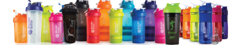 Shaker Bottle & Storage Bottles