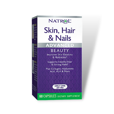 Natrol Skin Hair & Nails Advanced Beauty (60 Caps)