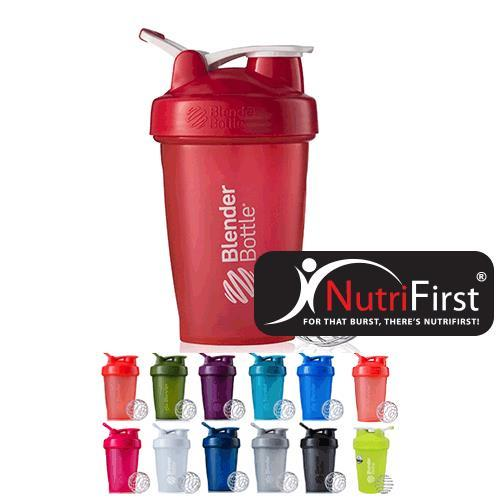 Blender Bottle Classic with Loop (600 ml) 20 Oz. - FULL COLOR