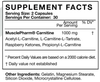 MusclePharm Carnitine Essentials (60 Capsules)