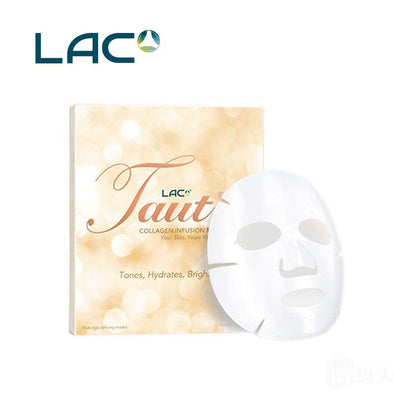 LAC Taut Collagen Mask 1 MASK ONLY EXP 11/18