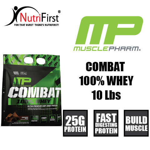 MusclePharm Combat 100% Whey (10 LBS)