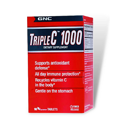GNC Triple C™ 1000 (90 vegitabs)