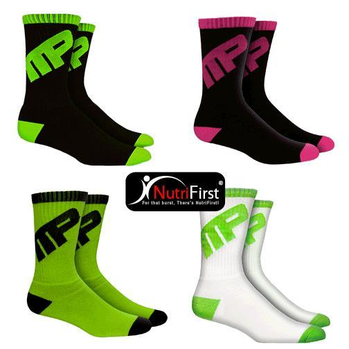 MusclePharm Sportswear Crew Sock (CSK)