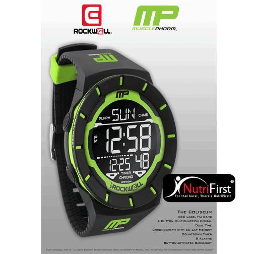 MusclePharm Sportswear The Coliseum Watch (WCH COL)
