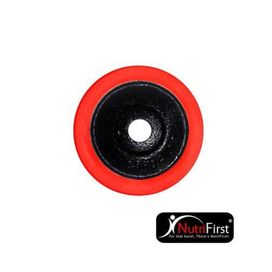 O'Bells Dumbbell Plate with Rubber Ring (2.5Kg)
