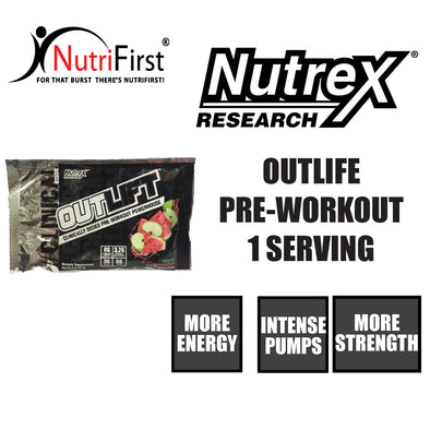 Nutrex Clinical Outlift Sample Sachet Pack