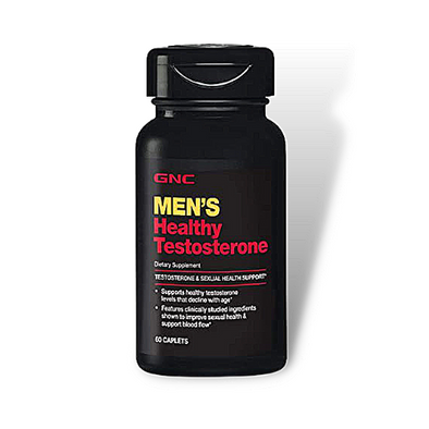 GNC Men's Healthy Testosterone (60 caplets)