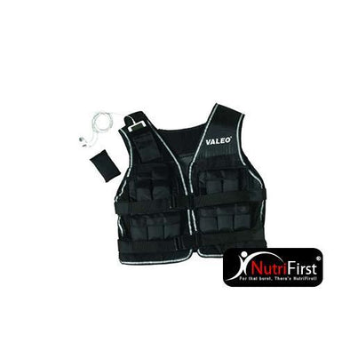 Valeo Weighted Vest (WV20) 20 Lbs