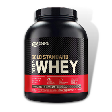 Optimum Nutrition 100% Whey Protein Gold Standard (5 Lbs)