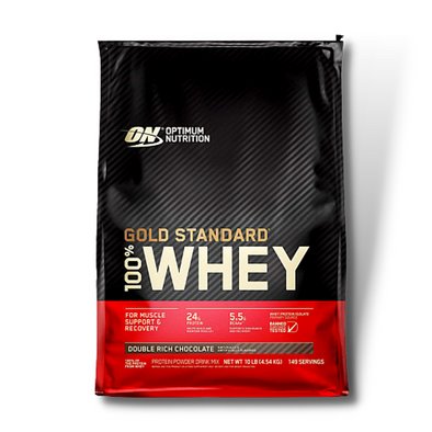 Optimum Nutrition ON 100% Whey Protein Gold Standard (10 Lbs)