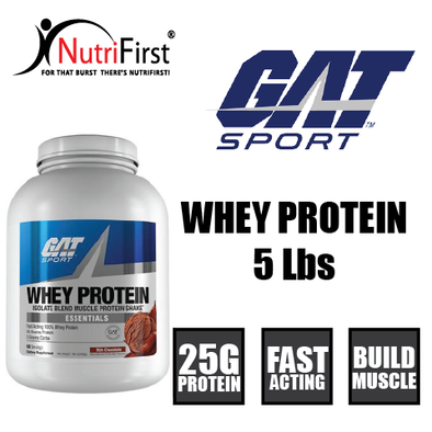 GAT Sport Whey Protein (5 Lbs)