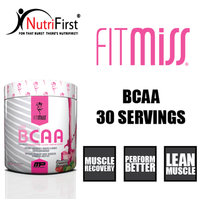 FitMiss BCAA (130 Grams) HARDENED