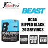 beast-bcaa-ripped-black-20-servings-nutrifirst-singapore