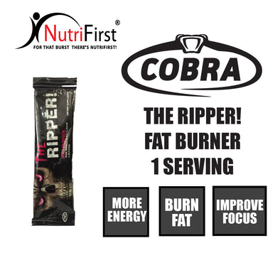 Cobra Labs The Ripper! FAT BURNER Sample Sachet Pack