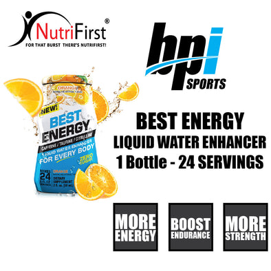 BPI Sports Best Energy Liquid Water Enhancer (1 Bottle)