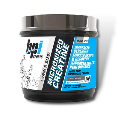 BPI Sports Micronized Creatine (600g) 120 Servings