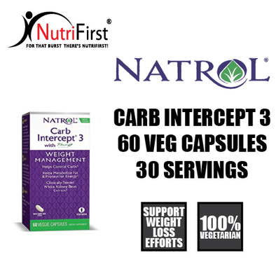 Natrol Carb Intercept 3 (60 Capsules)