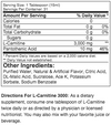 Prosupps L-Carnitine 3000 (16 Fluid Oz) 31 Servings