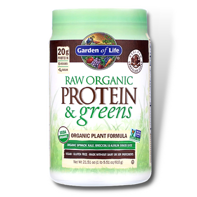 Garden of Life RAW Protein & Greens Organic Plant Formula