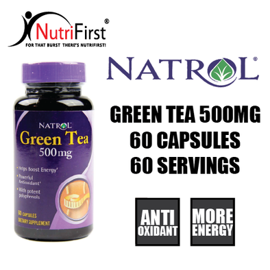 Natrol Green Tea 500mg (60 Capsules)