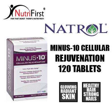 Natrol Minus-10 Cellular Rejuvenation (120 Tablets)