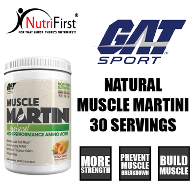 GAT Sport Natural Muscle Martini (30 Servings)