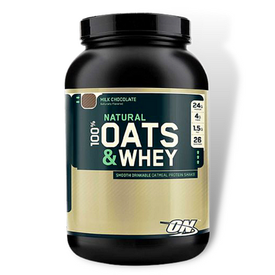 Optimum Nutrition 100% NATURAL Oats & Whey (3 Lbs)