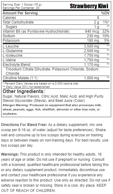 Scivation Xtend Free BCAAs (30 Servings)