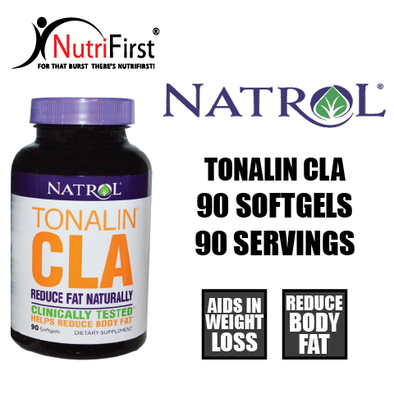 Natrol Tonalin CLA 1200mg (90 Softgels) BIG Container