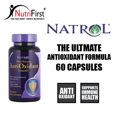 Natrol The Ultimate Antioxidant Formula (60 Capsules)