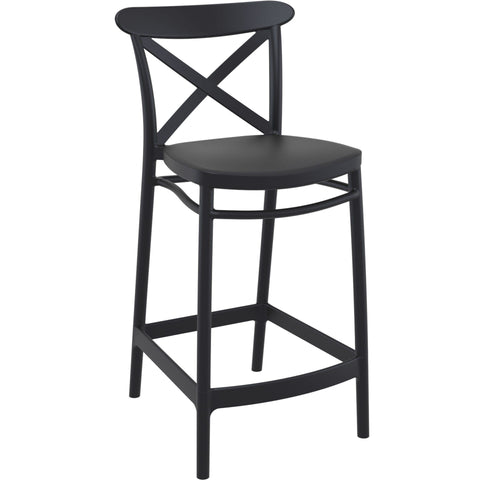 Cross Barstool 65cm High - Richmond Office Furniture