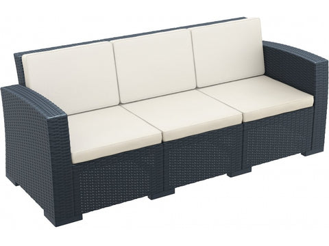 MONACO LOUNGE 3 SEAT SOFA - Richmond Office Furniture