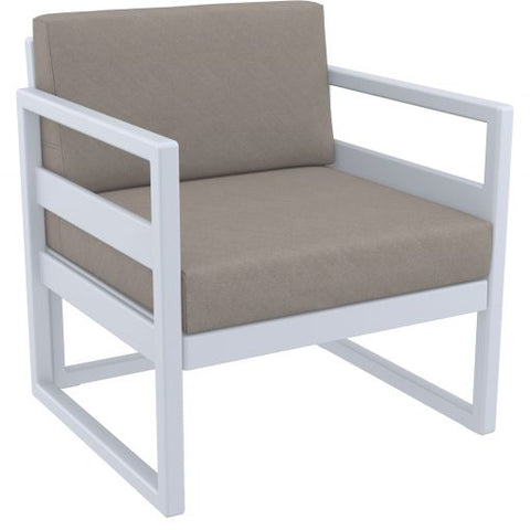 Mykonos Lounge Arm Chair - Richmond Office Furniture