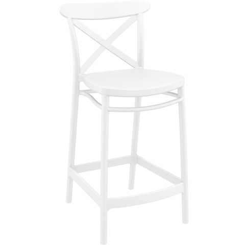Cross Barstool 75cm High - Richmond Office Furniture