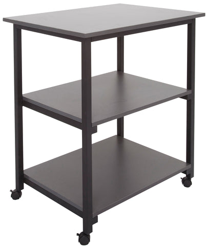 Office Furniture Setup, Trolley 3 Tier Ironstone