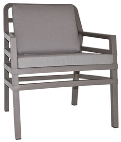 ARIA ARM CHAIR TAUPE - Richmond Office Furniture