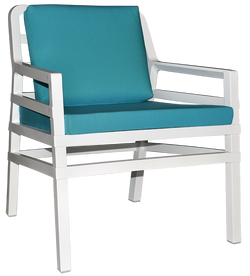ARIA ARM CHAIR WHITE - Richmond Office Furniture