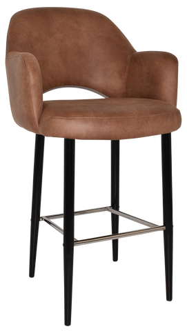 Albury Arm Stool 75cm High - Richmond Office Furniture
