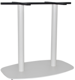 Arc 2 Way Table Base White - Richmond Office Furniture