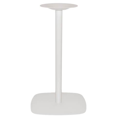 Arc Bar Table Base White - Richmond Office Furniture