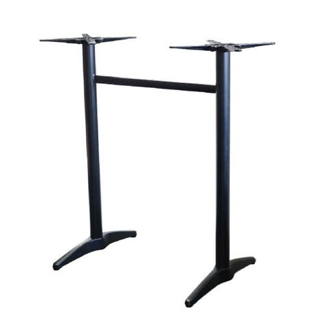 Astoria Twin Black Bar Table Base - Richmond Office Furniture