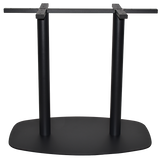 Arc 2 Way Table Base Black - Richmond Office Furniture