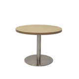 Coffee Table With Disc Base - Richmond Office Furniture