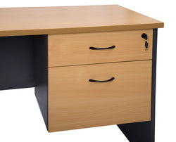 Fixed Drawer Unit For Rapid Worker - Richmond Office Furniture