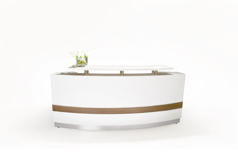 CONSERVATORY RECEPTION DESK - Richmond Office Furniture