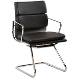 Flash Leather Visitor Chair - Richmond Office Furniture