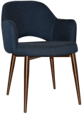 ALBURY ARM CHAIR COPPER METAL LEG - Richmond Office Furniture