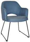 Albury Arm Chair Sled Base - Richmond Office Furniture