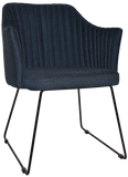 Coogee Arm Chair Sled Base - Richmond Office Furniture